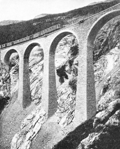 PERCHED ON A PRECIPITOUS SLOPE is Luegeikinn Viaduct