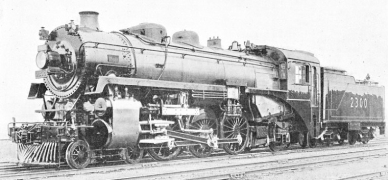 "AN EXPRESS ""PACIFIC"" OF THE CANADIAN PACIFIC RAILWAY"