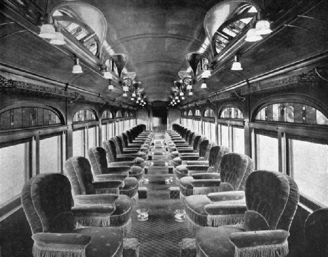 "PULLMAN DRAWING-ROOM CAR ON THE ""INTERNATIONAL LIMITED"""