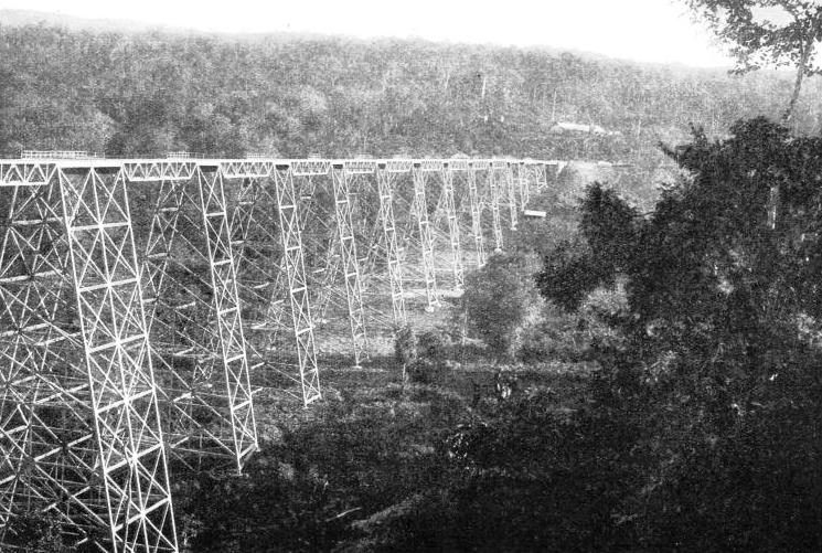 THE GOKTEIK VIADUCT on the Lashio branch of the Burma Railways