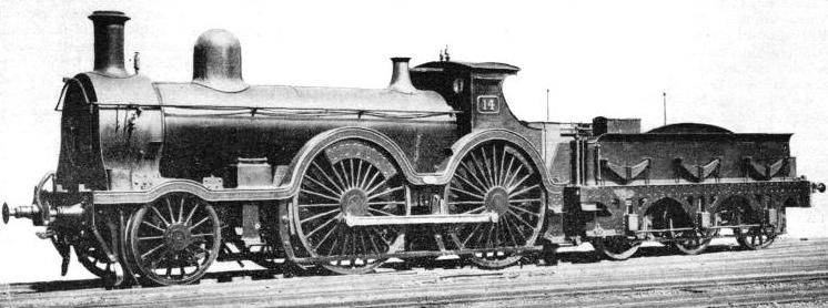 "A ""Convertible"" locomotive of the GWR"