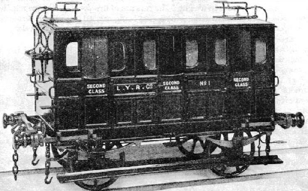 London and York Railway second class carriage