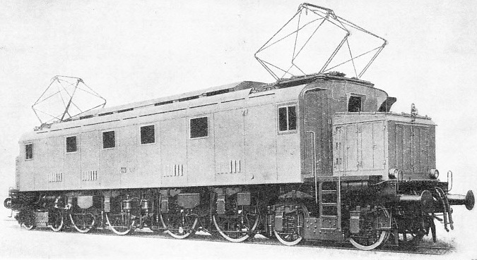 A Modern Electric Locomotive of the Italian State Railways