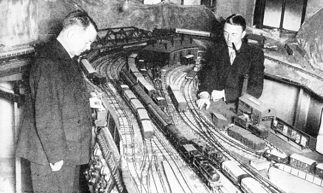 THE VICARAGE MODEL RAILWAY, owned by the Rev. A. H. Webb