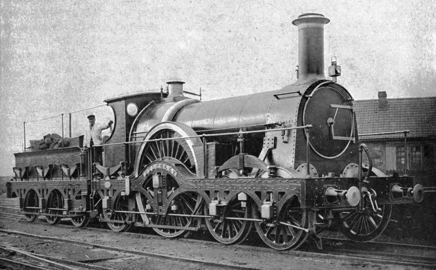 "A FAMOUS ""FLYER"" OF THE BROAD GAUGE ERA"