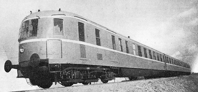 A Danish Streamlined Train