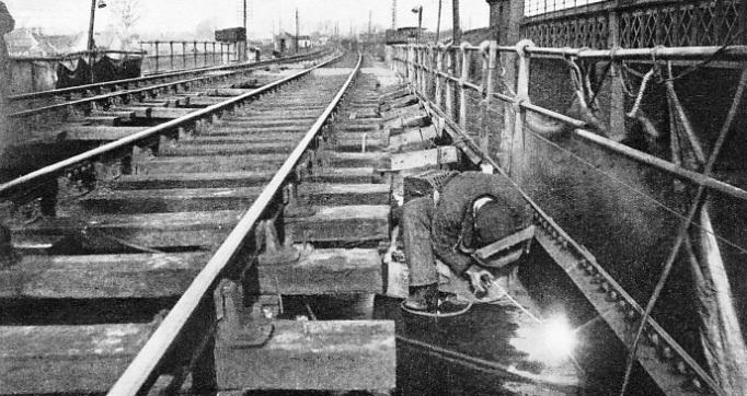 Welding in Railway Service