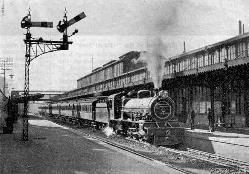 The Union Express at Johannesburg