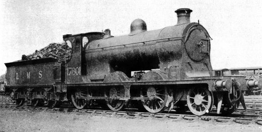A 2-6-0 Mogul built in 1912 for the Caledonian Railway