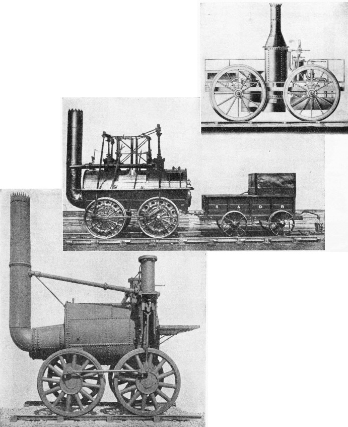 "The ""Perseverance"", ""Locomotion No 1"", and ""Sans Pareil"""