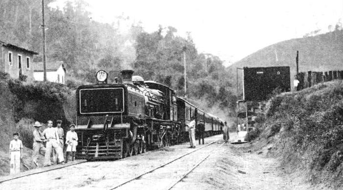THE LARGEST BRITISH-OWNED RAILWAY IN BRAZIL is the Leopoldina Railway