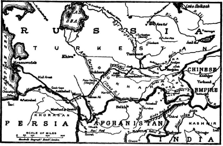 The Trans-Caspian Railway