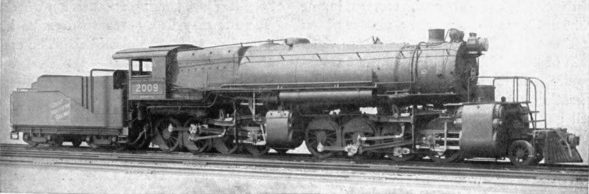 "THE ""BIG BULL-MOOSER"" OF THE GREAT NORTHERN RAILROAD, USA"