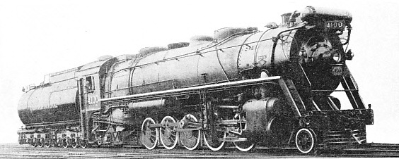 "THE ""SANTA FE"" TYPE locomotive of the Candian National Railways"