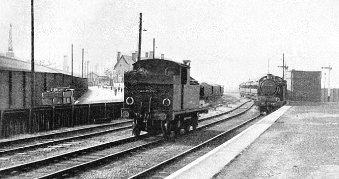 GALLIONS STATION on the Port of London Authority Railways