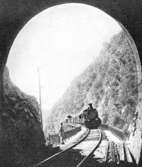 MOUNTAINOUS THESSALY was a formidable barrier to the railway engineers