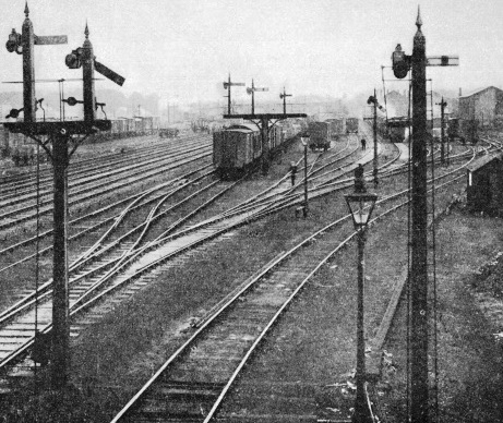 Sidings at Petteril Bridge, near Carlisle