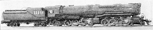 "A VAST ""MALLET''-TYPE ENGINE FOR THE CHESAPEAKE & OHIO RAILROAD"