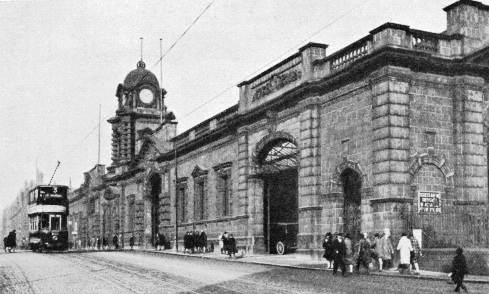 Nottingham Station in 1935