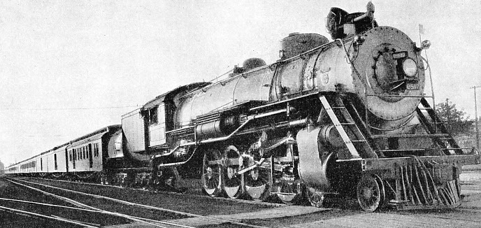 "FOR 1,765 MILES CONTINUOUSLY 4-8-2 Engine No. 2517 hauled this ""Silk Special"" over the main line of the Great Northern Railroad from Seattle to St. Paul, in fifty hours"