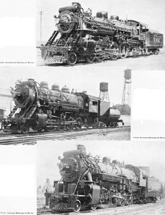 Some Mexican Locomotives