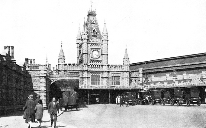 TEMPLE MEADS STATION at Bristol, an important junction