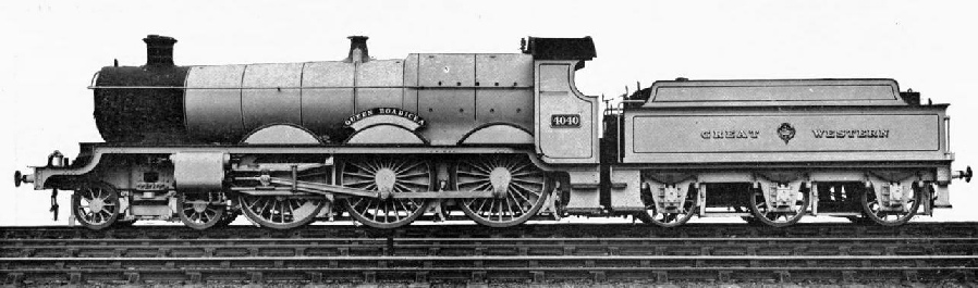 "THE ""QUEEN BOADICEA"", OF THE 4-6-0 CLASS"