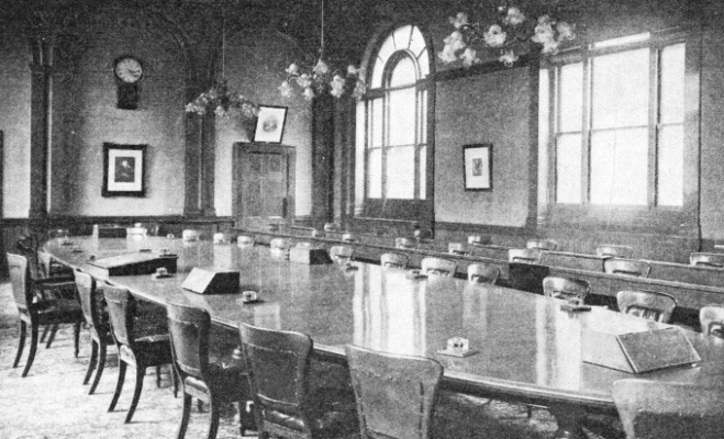 The Board Room of the Railway Clearing House