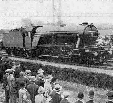 LNER No 2393 2-8-2 Mikado at the Railway centenary celebrations