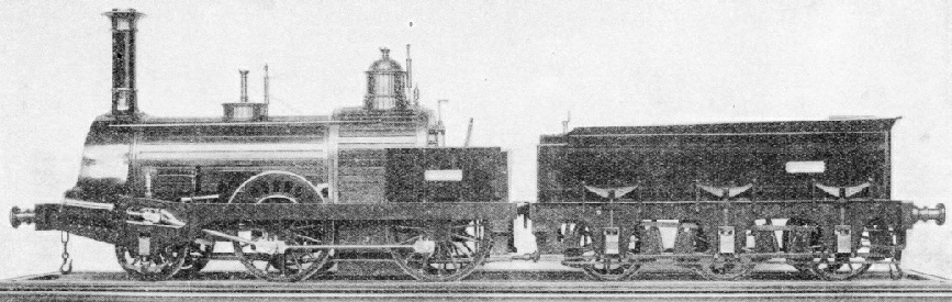 An engine for India, built in 1856