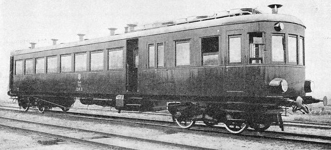 Diesel-driven rail-car used on local Estonian lines
