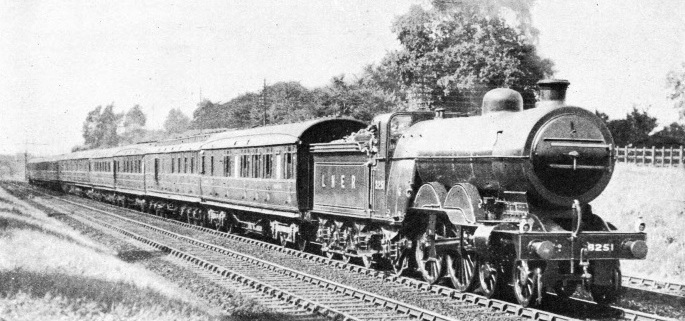 """Atlantic"" type engine built by H A Ivatt for the GNR"