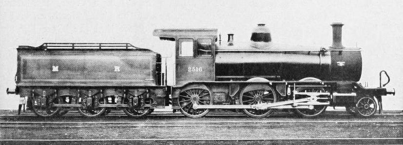 AMERICAN LOCOMOTIVE BUILT IN THE UNITED STATES FOR THE MIDLAND RAILWAY