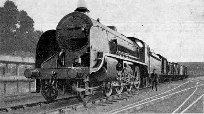 SR Locomotive No. 826 is a mixed traffic 4-6-0 of Class A