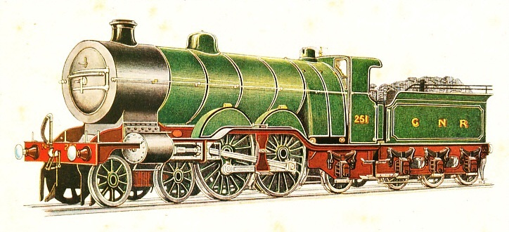 GREAT NORTHERN RAILWAY EXPRESS PASSENGER LOCOMOTIVE, No. 251