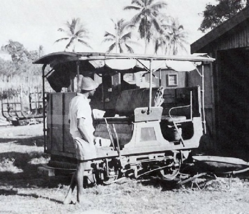 DREWRY RAILCAR used on the Fijian railways
