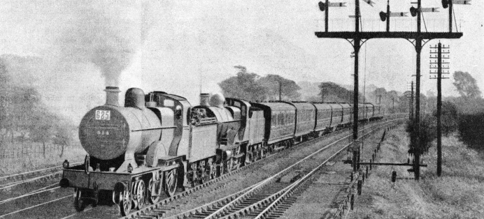 "An LMS ""Speical"" between Derby and Manchester"