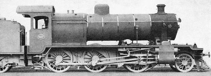 MIXED TRAFFIC LOCOMOTIVE built for the Egyptian State Railways