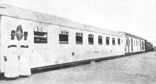 The carriages of the Egyptian State Railways total nearly 1,600