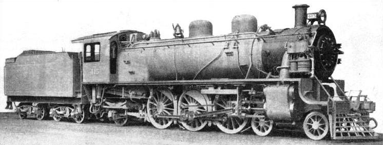"Chinese ""Pacific"" type Locomotive"