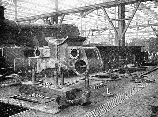 BUILDING AN ENGINE AT SWINDON WORKS