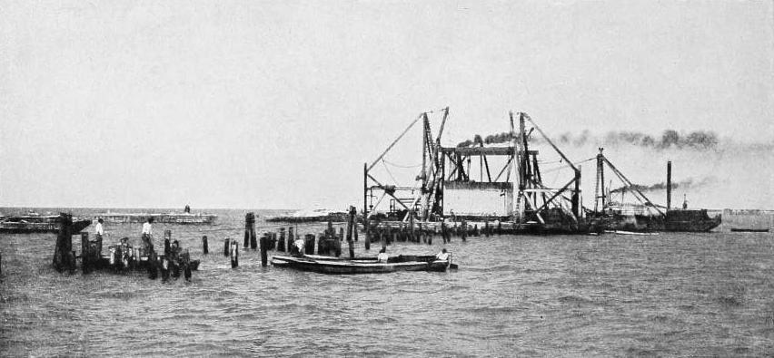 Constructing the Key West Extension Railway
