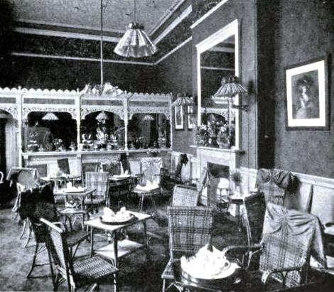 The Tea Room at King's Cross