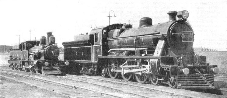An interesting comparison between two types of locomotive on the Buenos Ayres Great Southern Railway