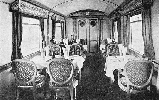 "THE ""FLYING SCOTSMAN"" includes superb restaurant cars in its make-up"