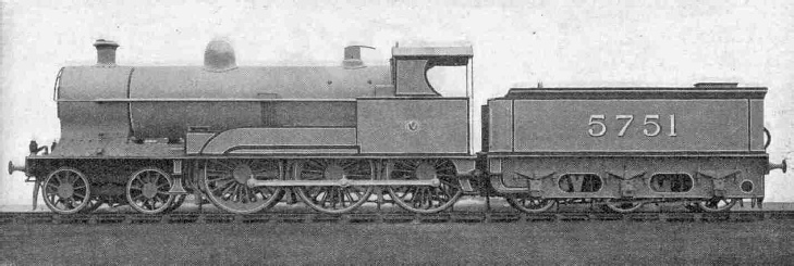 4-6-0 LMS Express Locomotive, Prince of Wales Class