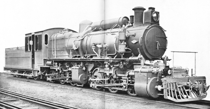 THE HEAVY 0-6-6-0 COMPOUND MALLET IN SERVICE ON THE UGANDA RAILWAY