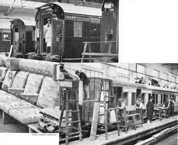 Rolling stock construction