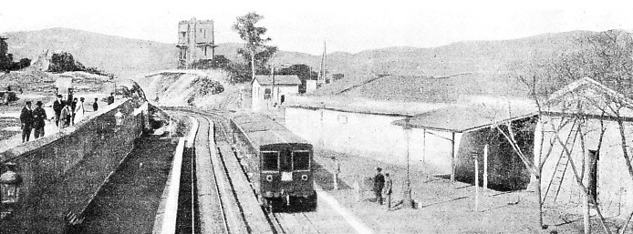 Theseion, a suburban station on the Greek Electric Railway