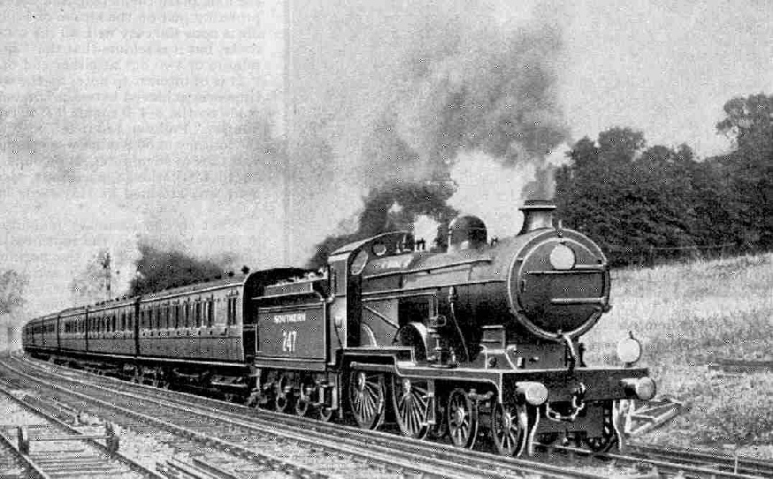 The Kent Coast Express, Eastern Division Southern Railway